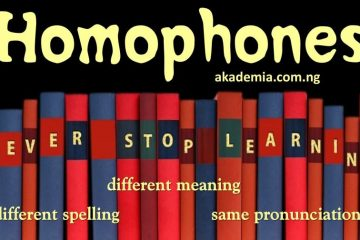50 English Homophones - Definition & Examples