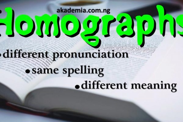 Homographs Definition & Examples