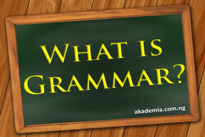What is Grammar