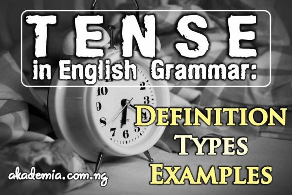 Tense in English Grammar: Definition, Types and Examples