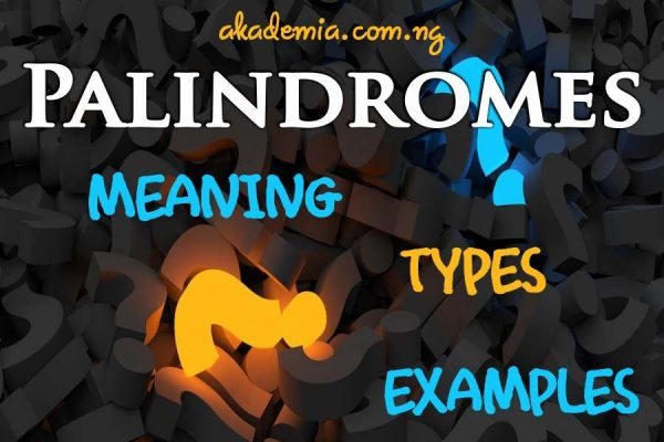 What is Palindrome (Meaning, Types & Examples)