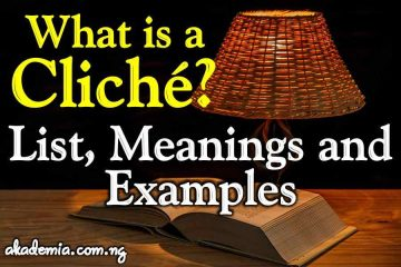 What is a Cliché? List, Meanings and Examples