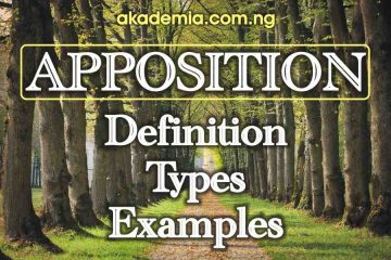 What is Apposition? Definition, Types and Examples