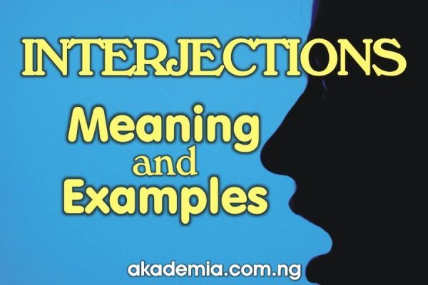 What is Interjection? (Meaning and Examples)