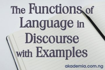 The Functions of Language in Discourse with Examples