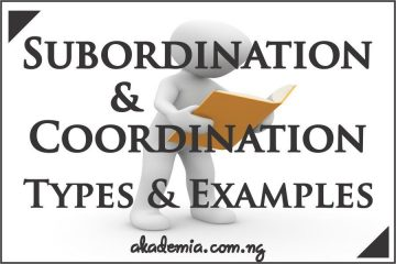 What is Subordination and Coordination? Types and Examples