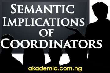 What is a Coordinator? Semantic Implications with Types and Examples
