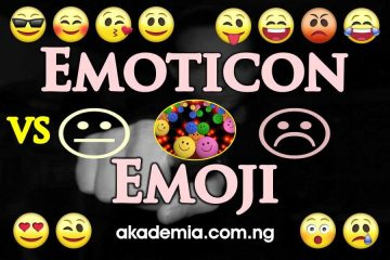 Emoticon vs Emoji (Definition and Difference)