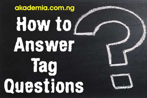 How to Answer Tag Questions with Examples