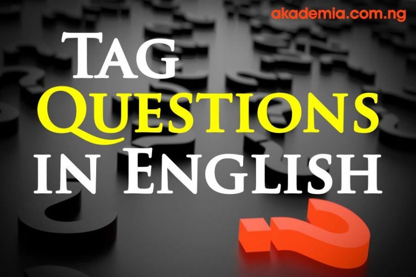 Tag Questions in English: Formation, Rules and Examples