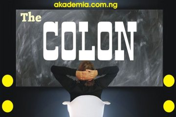 Colon - Definitions, Functions, Uses with Examples