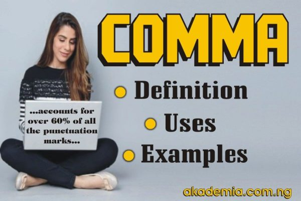 Comma - Definitions, Functions, Uses with Examples