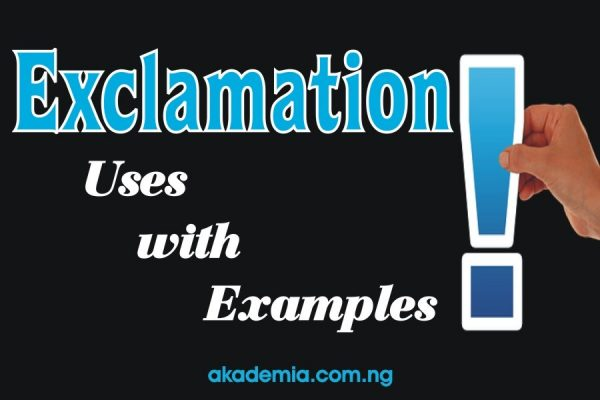 Exclamation - Definition, Functions, Uses with Examples