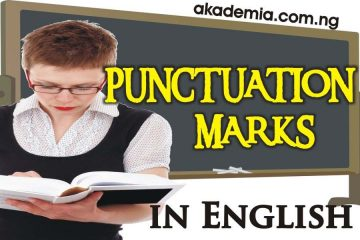 Punctuation Marks - Definitions, Functions, Uses with Examples
