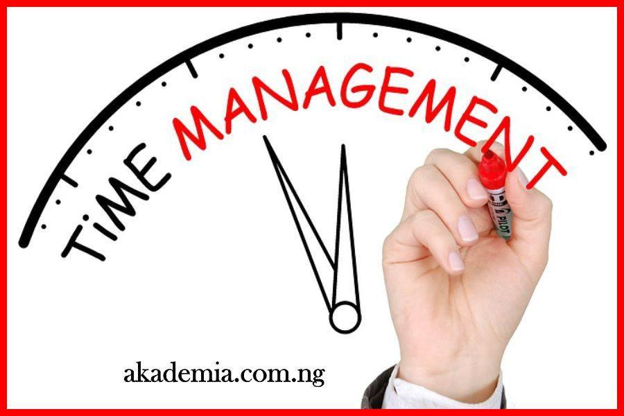 Time management is self-management   sales goodies   gestion du.