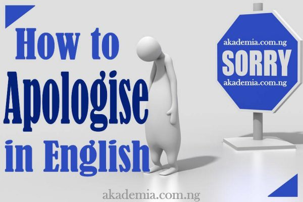 How to Apologise in English with Examples