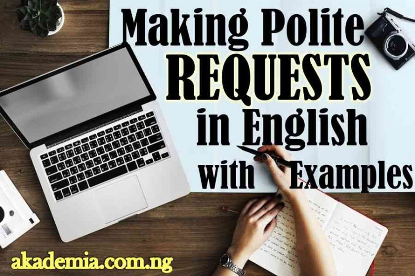 Making Polite Requests in English with Examples